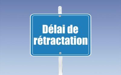 Le droit de rétractation de l'acquéreur
