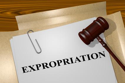Expropriation : l'arrêté de cessibilité de parties de parcelles